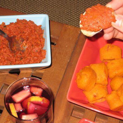 Tartinade à la tomate séchée
