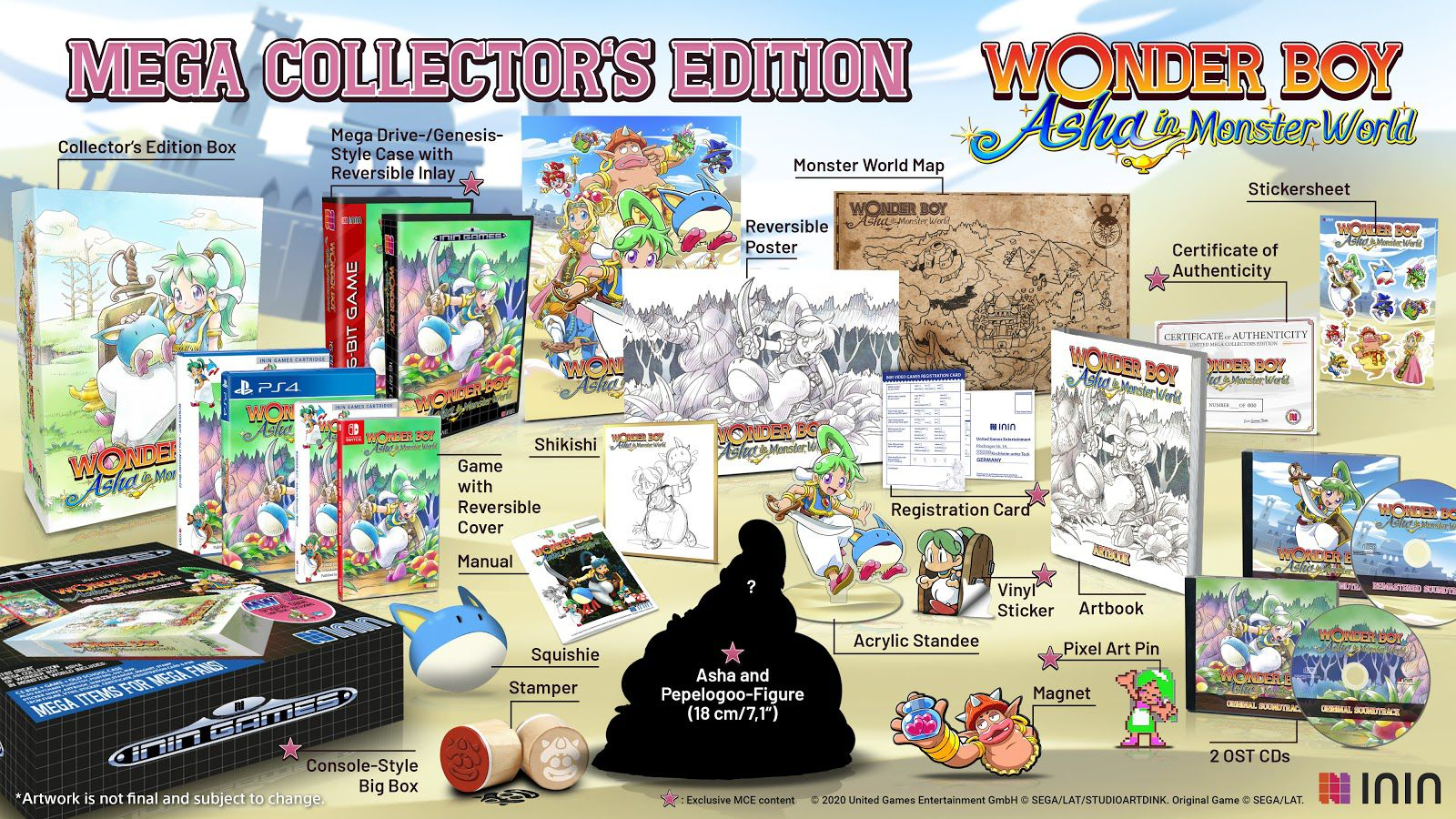 Un relifting complet pour Monster WorldIV !