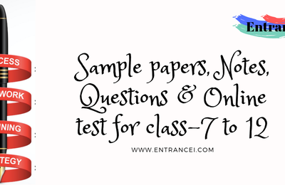 NCERT Solutions for Class 10 - Entrancei