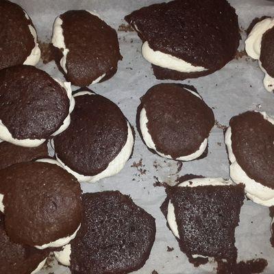 Whoopie pies au chocolat