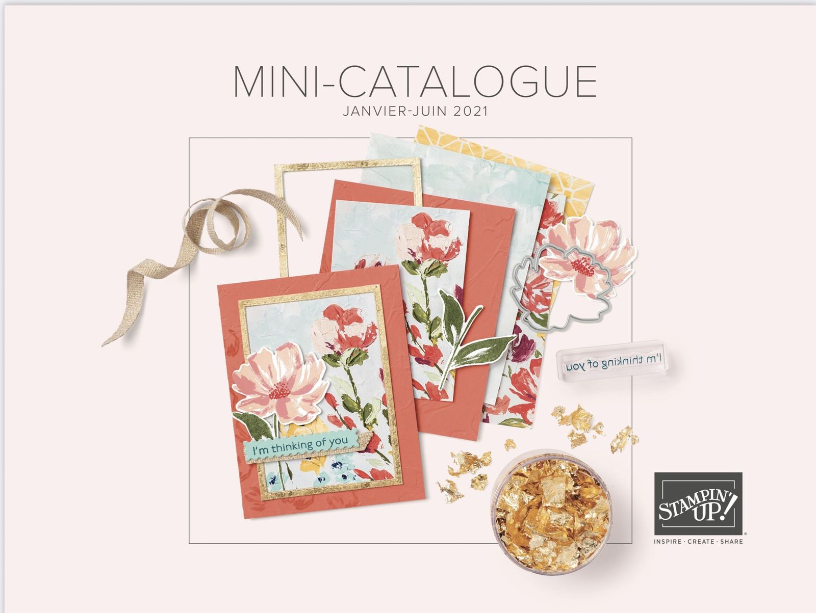 Mini catalogue janvier-juin 2021 Stampin'Up!