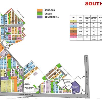 9873498205:Plot for sale in South city 1 Gurgaon-200sqyd-500sqyd