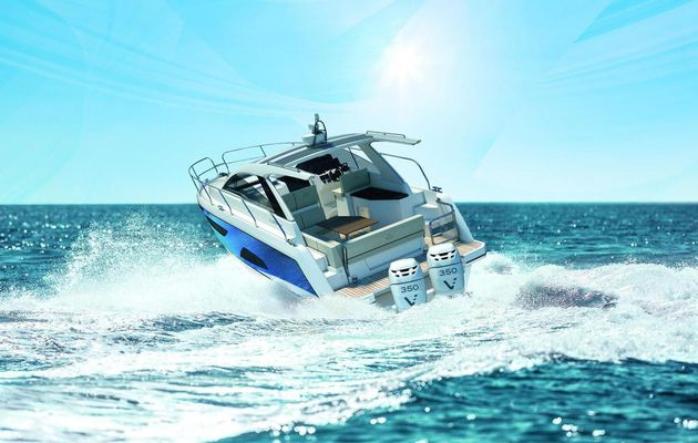 Outboard engines for new Sealine S330v