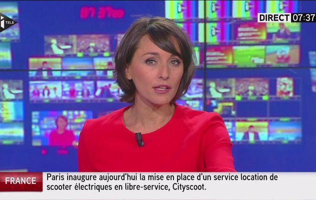 AMANDINE BEGOT dans LA MATINALE INFO sur i>tele le 2016 06 21