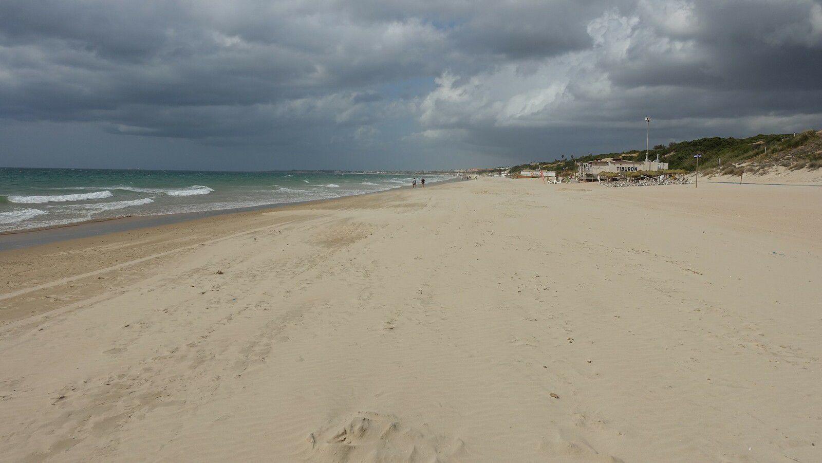 Andalousie 2021 : playa Barrosa ...