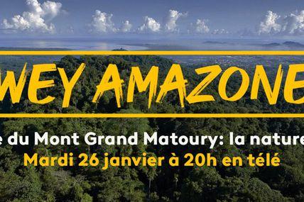 Guyane la 1ère vous emmène à la découverte du Mont Grand Matoury dans « Wey Amazone » !