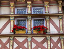 Le vieux Quimper : Bretagne