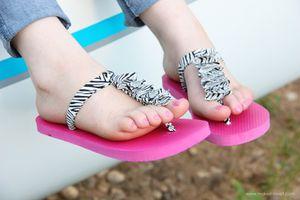 DIY : Customiser vos tongs (5)