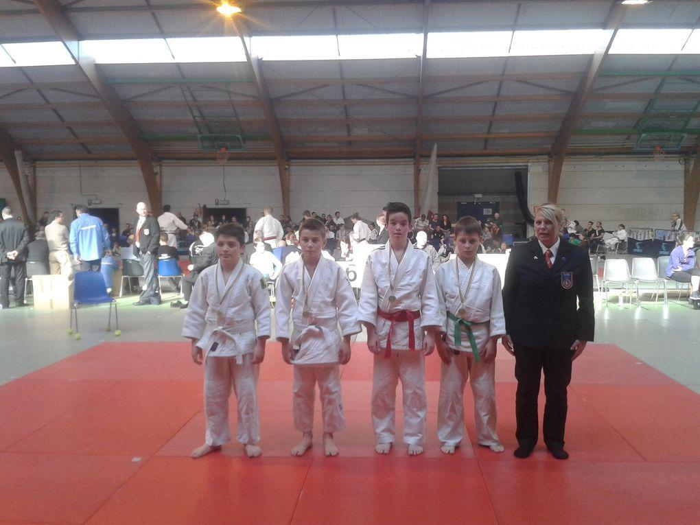 12ème Open International du JUDO CLUB TORI à JODOIGNE (Belgique) les 18 et 19/04/15