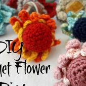 Little Treasures: Make Jewelry: Crochet Flower Ring