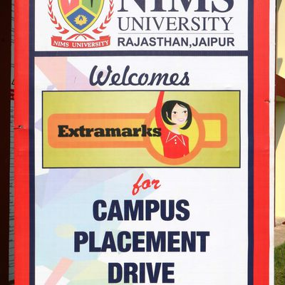 Campus Placement by Extramarks in Nims University Jaipur
