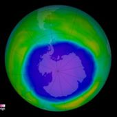 Antarctic ozone layer shows signs of healing