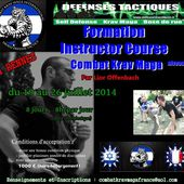 Formation Instructeur Krav maga à Rennes