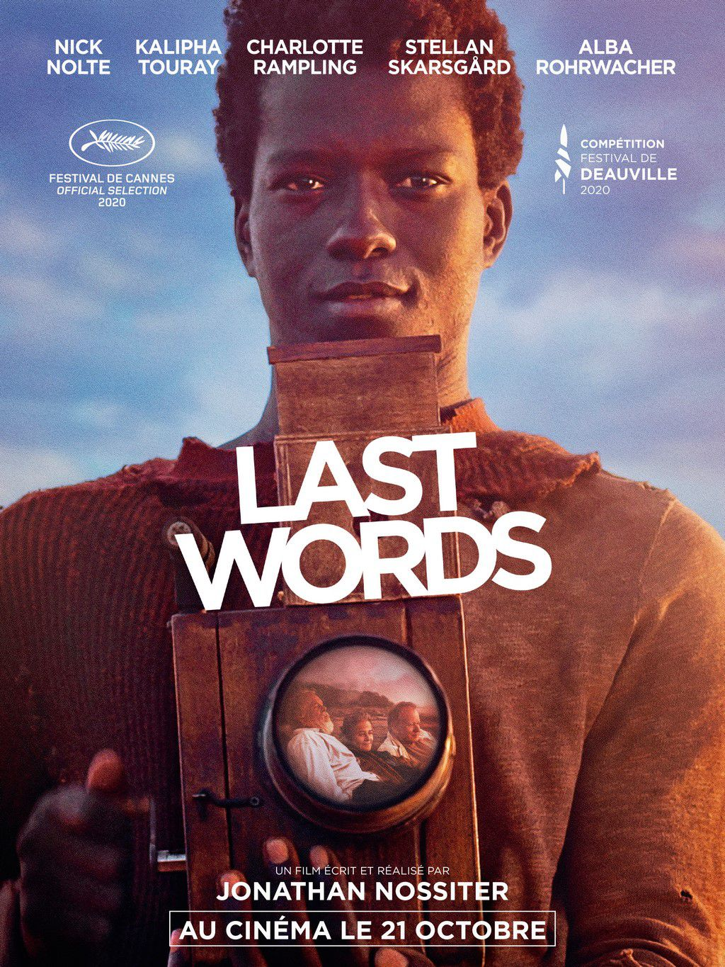 LAST WORDS avec Kalipha Touray, Nick Nolte, Charlotte Rampling...au Cinéma le 21 Octobre 2020