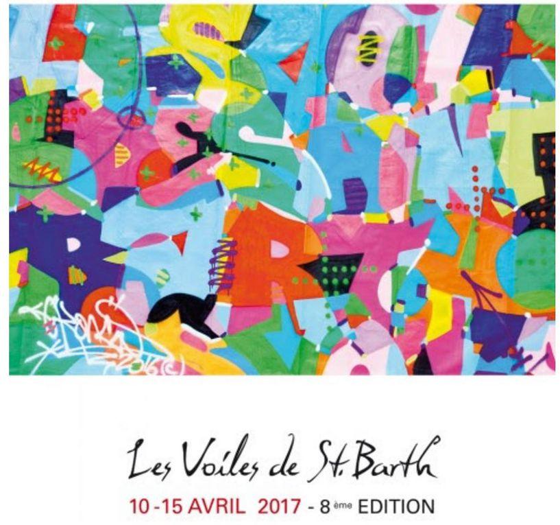 Lionel Péan et le graffeur Kongo à l'honneur aux Voiles de Saint Barth