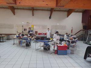 Saint André les Alpes: Une collecte de sang réussiemalgré les circonstances !