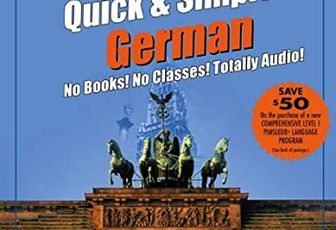 Pimsleur Quick and Easy German: Euro Edition