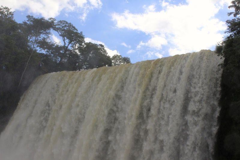 Les chutes d'IGUAZU- Argentine : La partie inférieure