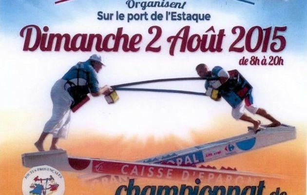 Joutes - Championnat de Provence - Dimanche 2 Aout