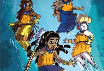 MULATAKO, Tome1 Immersion, une BD jeunesse d'afro science-fiction