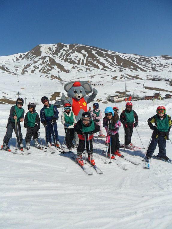 Le plan Glisse permet aux écoliers de Saint-Jean-de-Maurienne de pratiquer le ski. Retour en images sur le challenge de fin de saison.  Photos : L. Pavis, J. Tracq