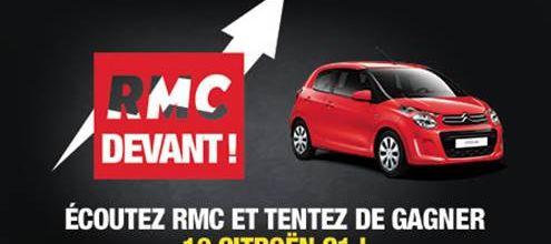Pour fêter ses bons résultats d'audience, RMC offre 10 voitures à ses auditeurs !