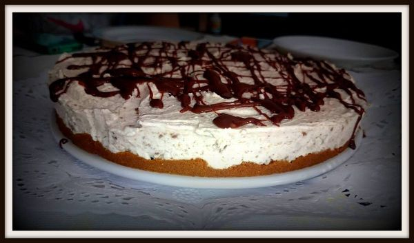 Tarta galleta filipinos tipo mousse