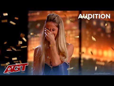 Tv : America's Got Talent 2021 , une française remporte un golden buzzer !!!