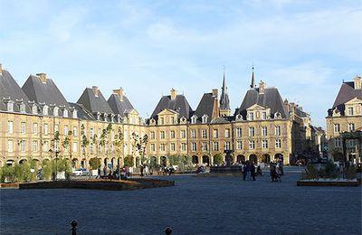 Ardennes ... Charleville Mézières ... La place Ducale