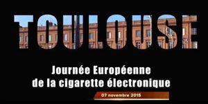 La journée européenne de la cigarette électronique à Toulouse