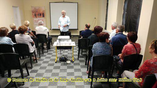 Deux communes s'associent pour accueillir une exposition sur l'histoire des Harkis à Meillon (64)