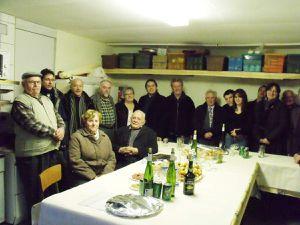 La fresque du local de la société avicole d'Algrange inaugurée