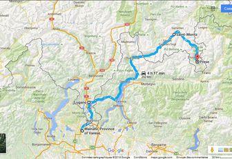 Entre Italie et Suisse