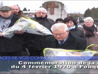 Fil de l'Actu - Commémoration du 4 février 70 à Fouquières