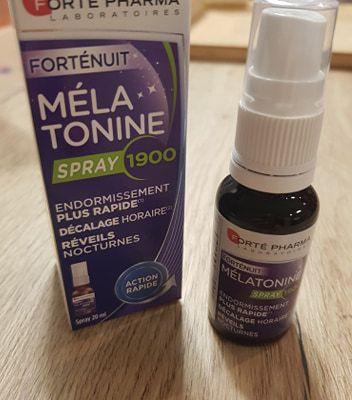 "Spray de Mélatonine 1900 "" Forté pharma """