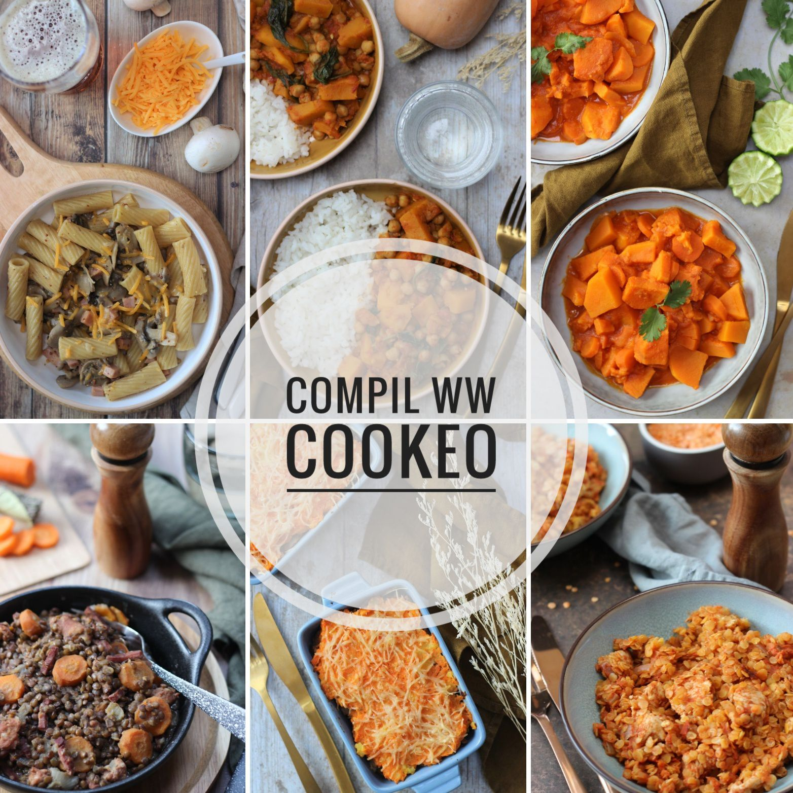 RECETTES COOKEO WW