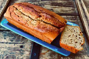 Recette IG bas : banana bread (thermomix ou non)