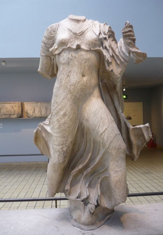 Three Nereids, from the Nereid Monument, about 390-380 BC