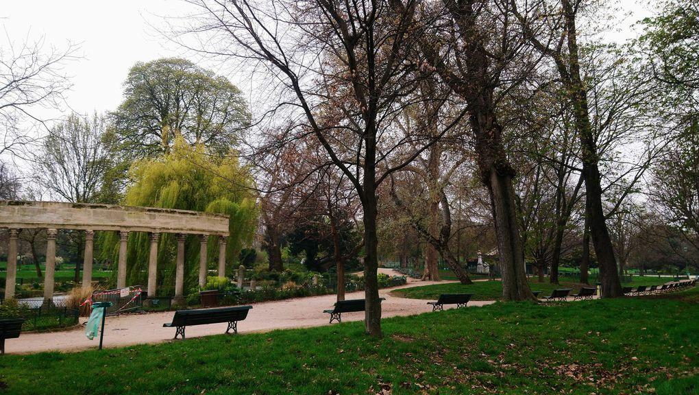 Le parc Monceau se repose