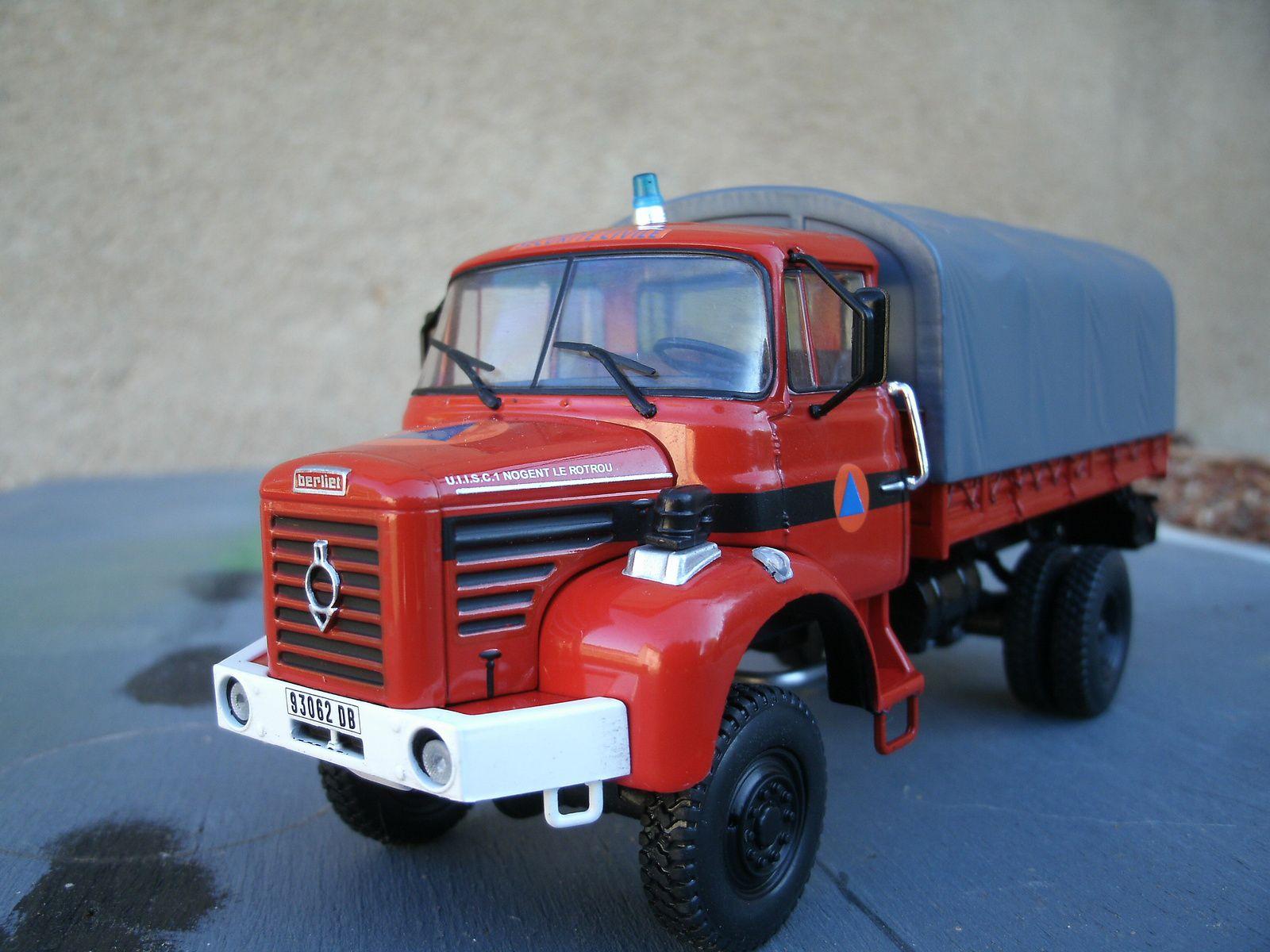 Le Berliet L 64 M3 de la Sécurité Civile