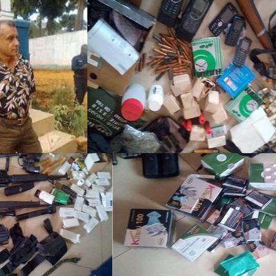 Un français arrêté à Bangui avec «une importante quantité d'armes de guerre» par la police centrafricaine.