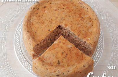 Le pain de thon à la tomate au Cookeo