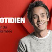 Valérie Lemercier et La Femme premiers invités du Quotidien avec Yann Barthès. - LeBlogTvNews