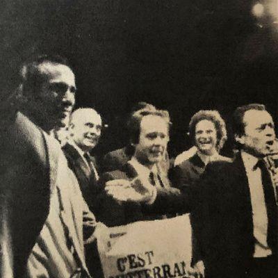 Les unes de la presse nationale 10, 11 et 12 mai 1981