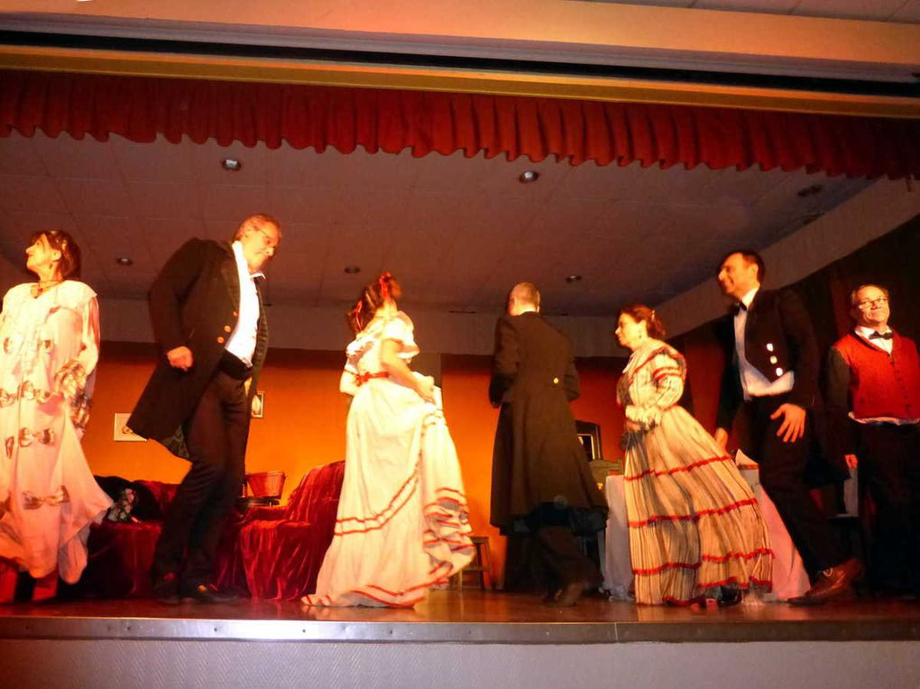 Soirée théâtrale à Saint-Paterne-Racan : Chat en poche de Feydeau