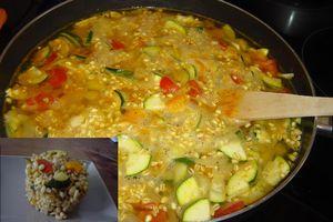 Poêlee de légumes à l'ébly