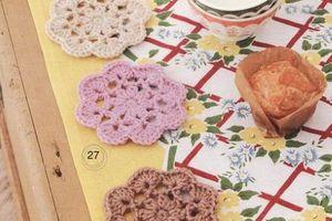"""Crochet : Patrons & modèles gratuits 25 """"Sous verres au crochet"""""""