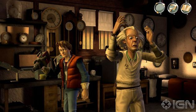 Back to the future - Telltales games