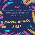 2021 début d'une nouvelle dizaine pleine d'espoir, bonne et heureuse année