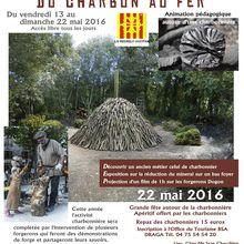 Bourg Saint Andéol, forge et charbon de bois